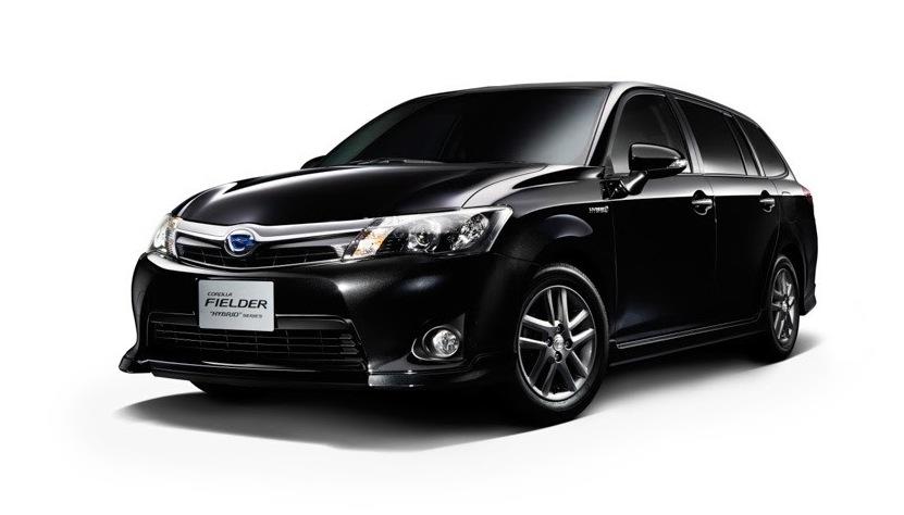 Toyota Corolla Axio, Fielder: Japan-only hybrid duo ...