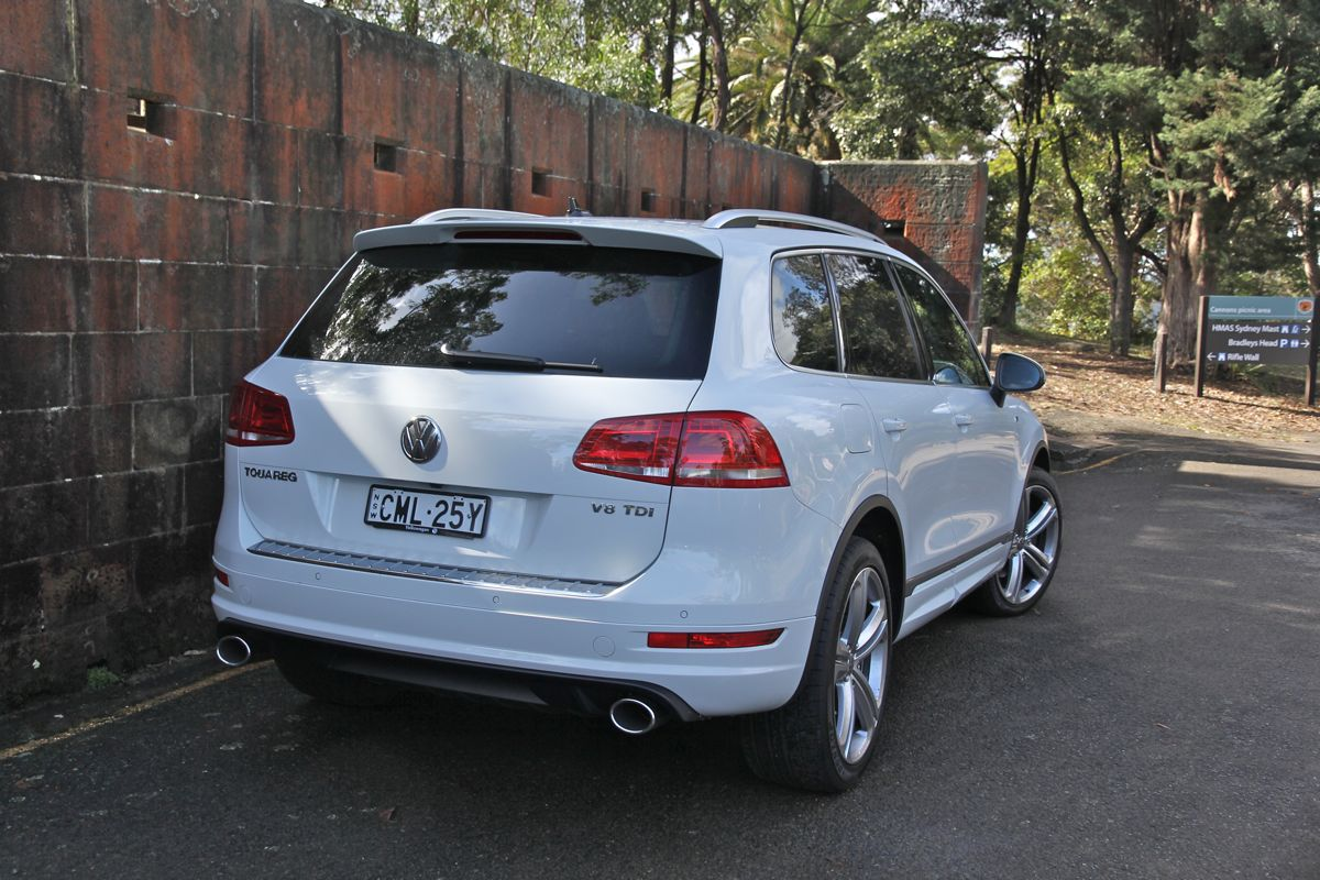 Volkswagen Touareg Review: V8 TDI R-Line - photos | CarAdvice