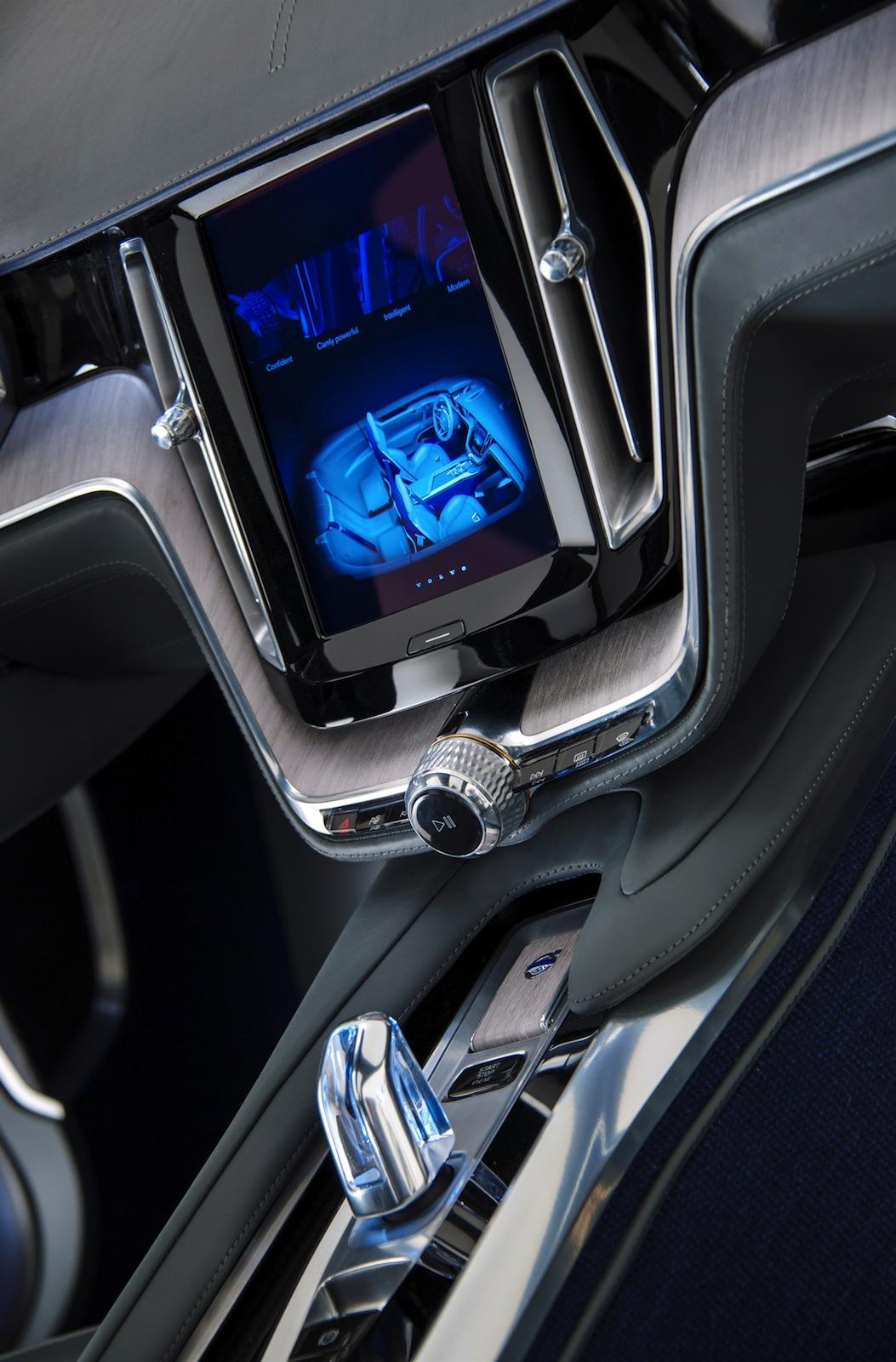 Volvo Concept Coupe previews new design language - photos ...