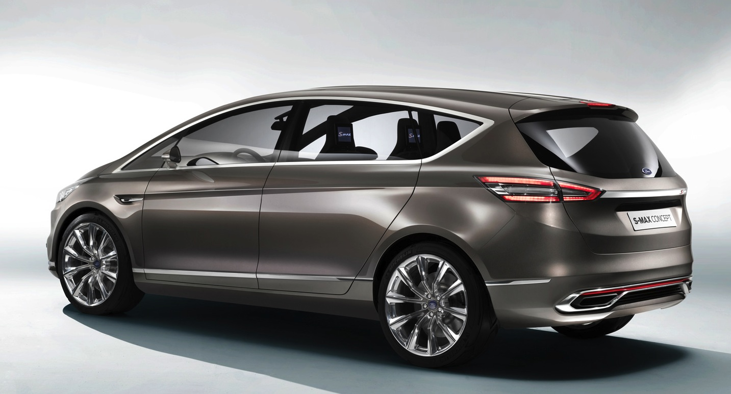Ford S-Max: sleek people-mover concept revealed - photos | CarAdvice