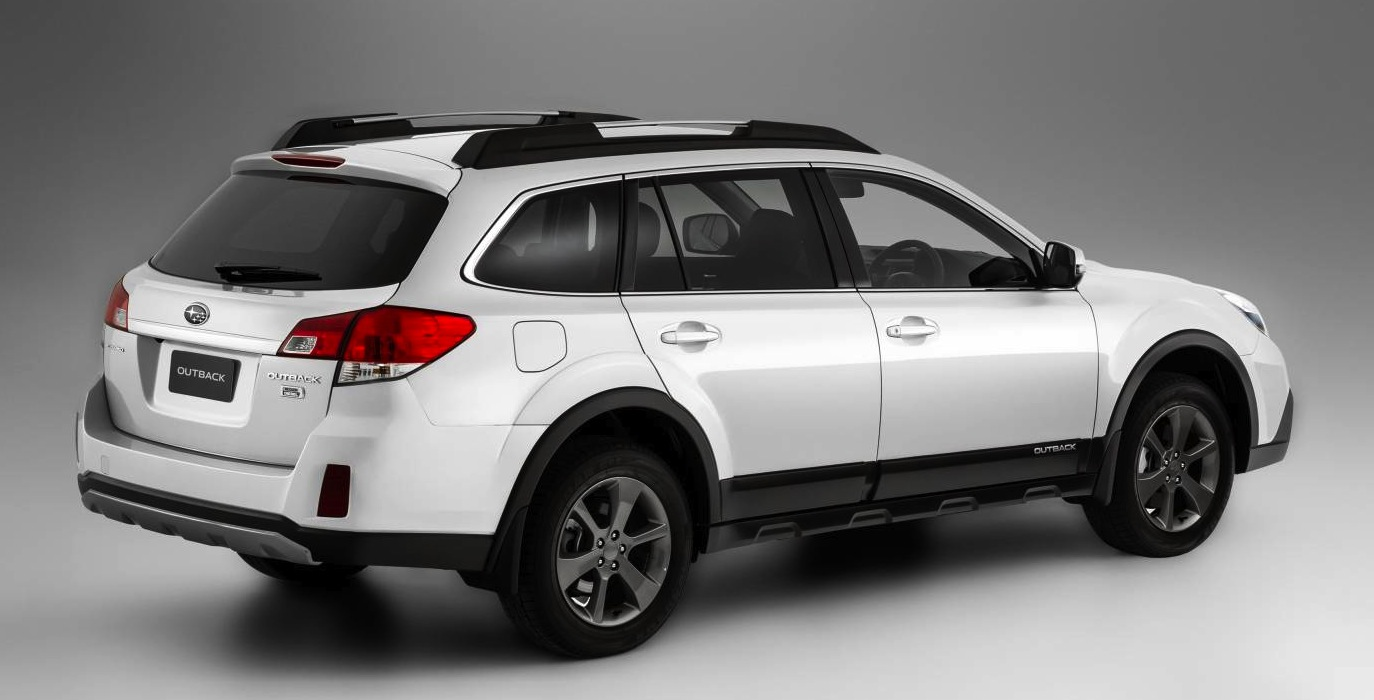Subaru Station Wagon >> Subaru Outback: tougher look, price rise for 2014 - photos ...