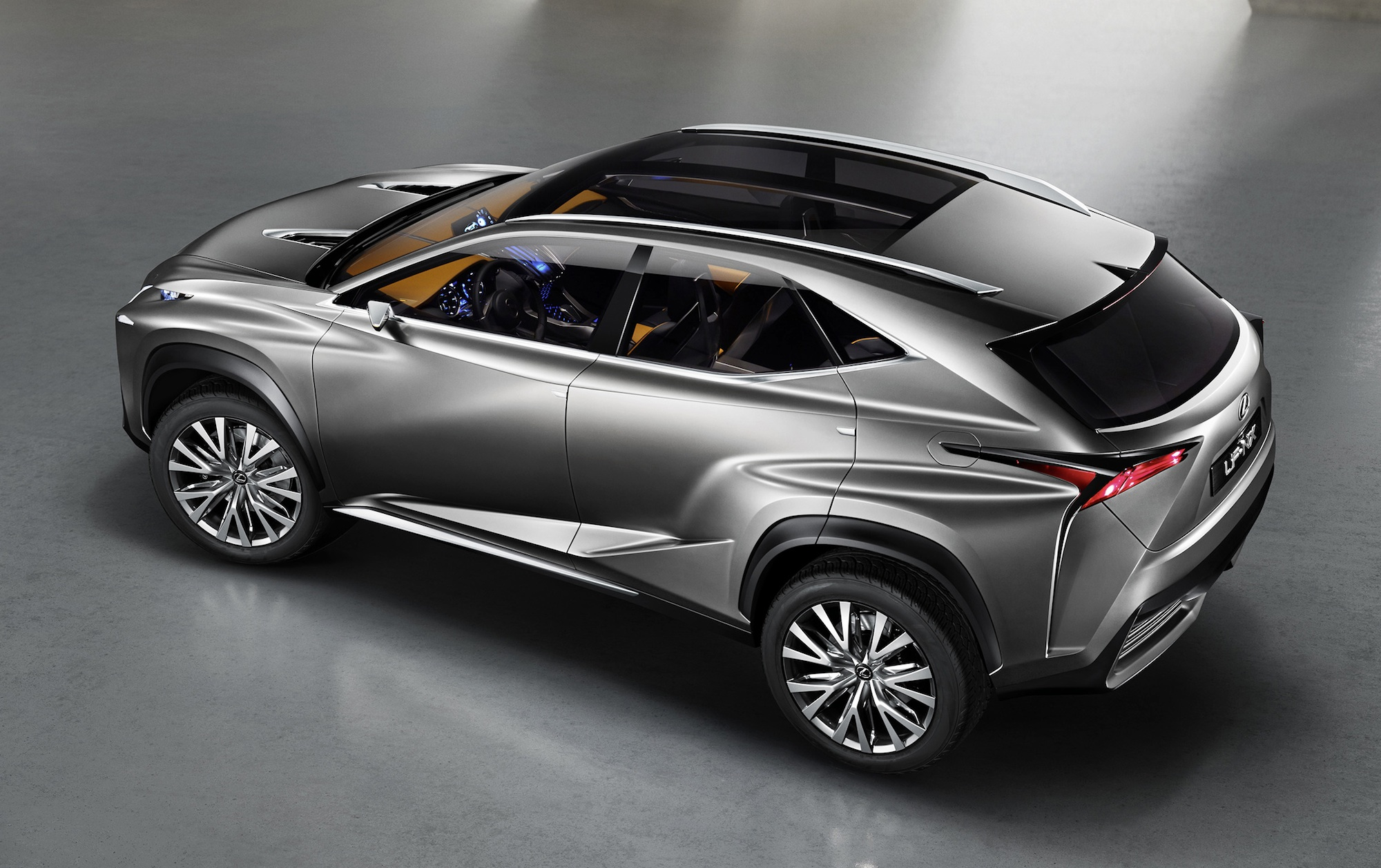 Lexus LF-NX concept: more images of future Q5, X3 rival ...