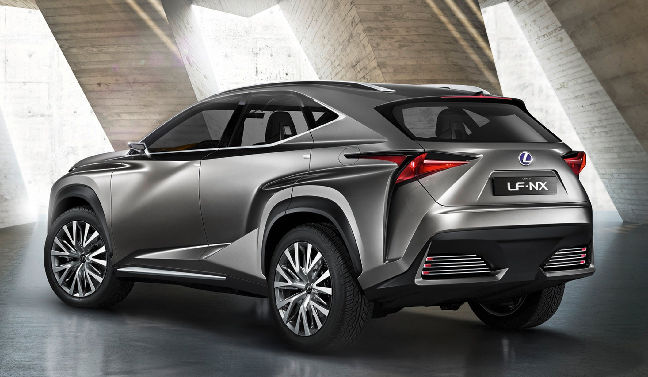 lexus nx suv previewed by radical concept photos caradvice. Black Bedroom Furniture Sets. Home Design Ideas