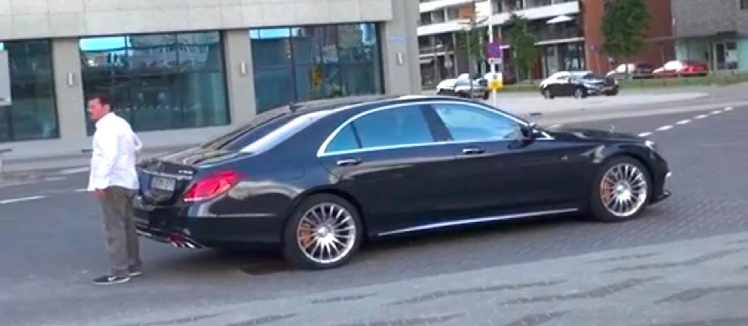 Mercedes Benz S65 Amg Performance Limousine Caught