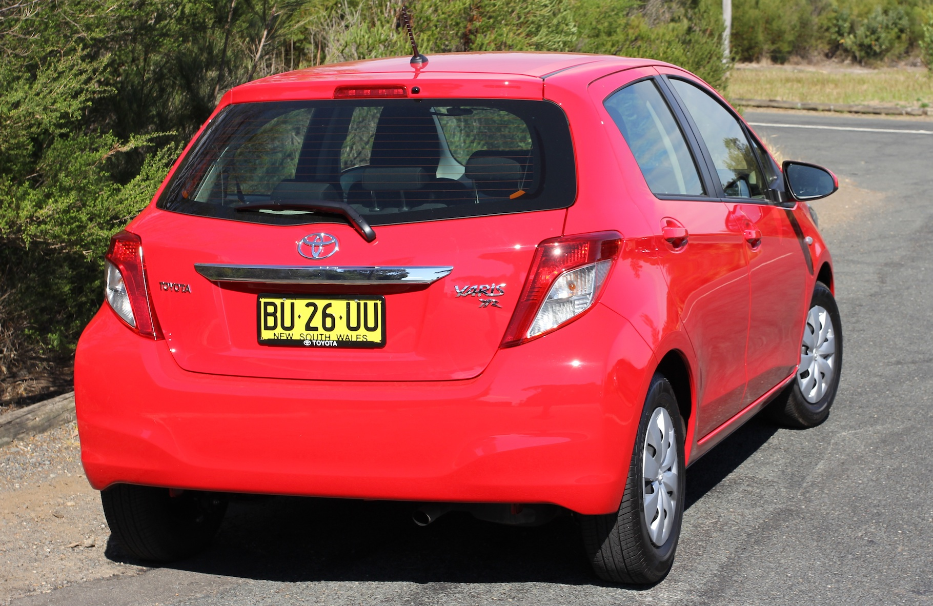 Toyota Yaris YR Review - photos | CarAdvice