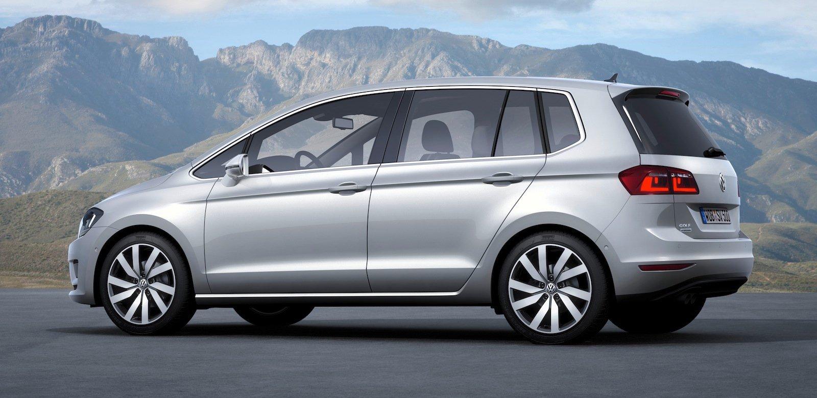 Volkswagen Golf Sportsvan Concept Next Gen Golf Plus