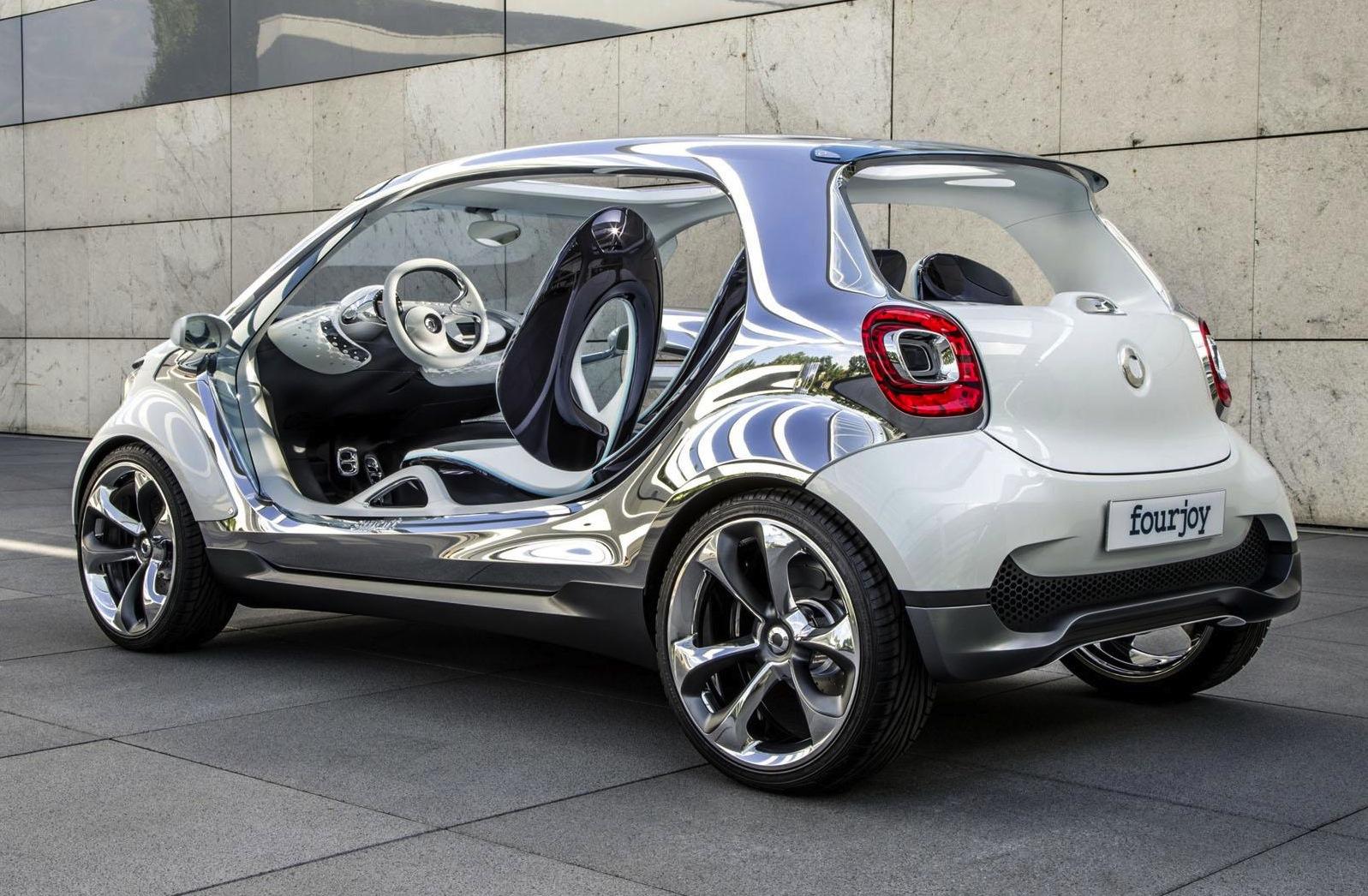 Smart FourJoy concept: doorless city buggy revealed ...