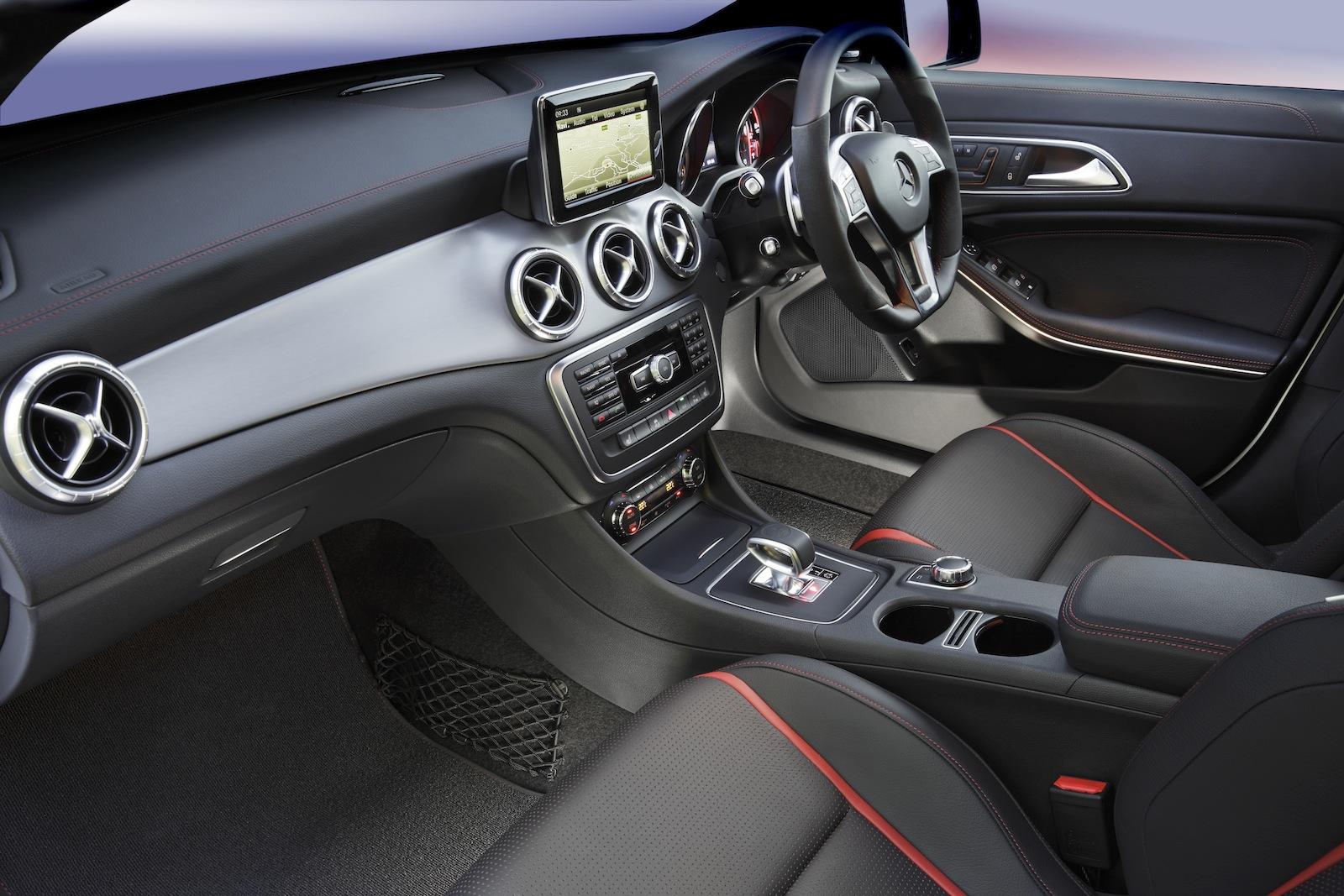 Mercedes Benz Cla45 Amg Review Photos Caradvice