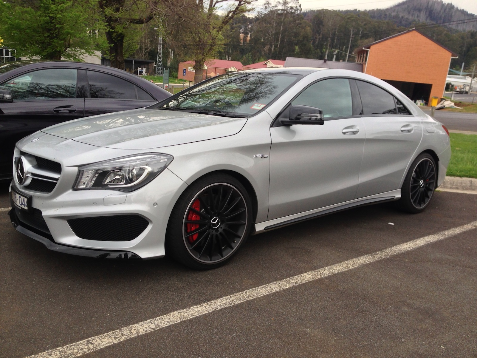 Mercedes benz cla45 amg review caradvice for Mercedes benz in md