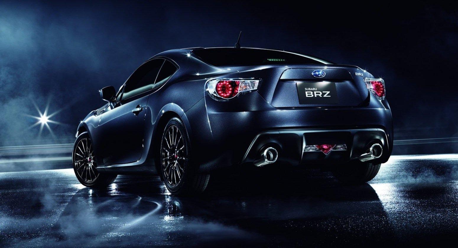 Subaru Brz Vs Toyota 86 >> Subaru BRZ Premium Sport Package: Japan-only special ...