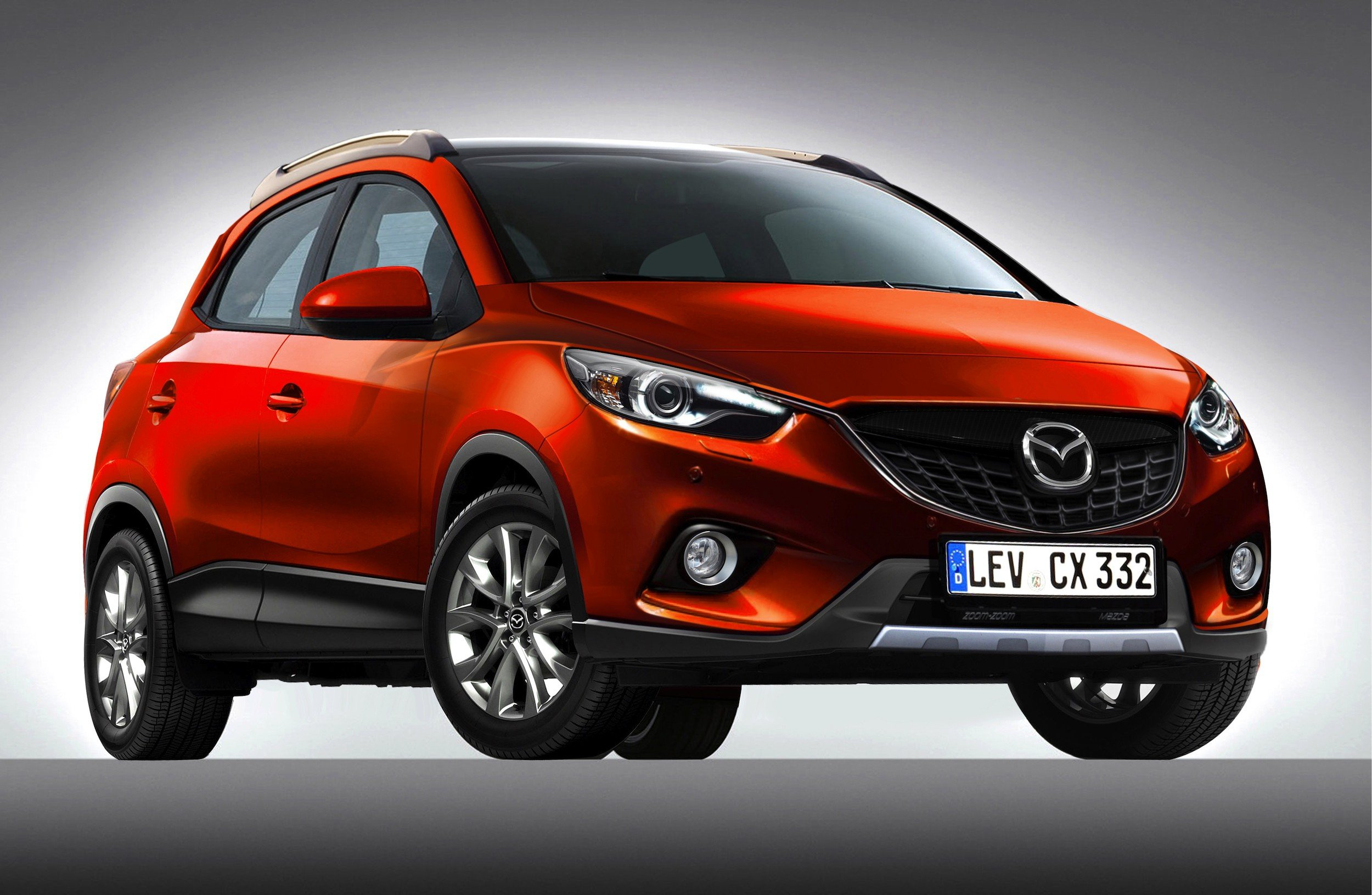 mazda cx 3 sub compact suv to debut by end of 2014 report photos 1 of 1. Black Bedroom Furniture Sets. Home Design Ideas
