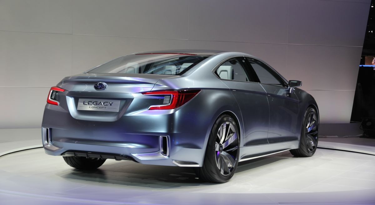 2014 Subaru Liberty won't mirror Legacy concept in design or size - Photos (1 of 12)