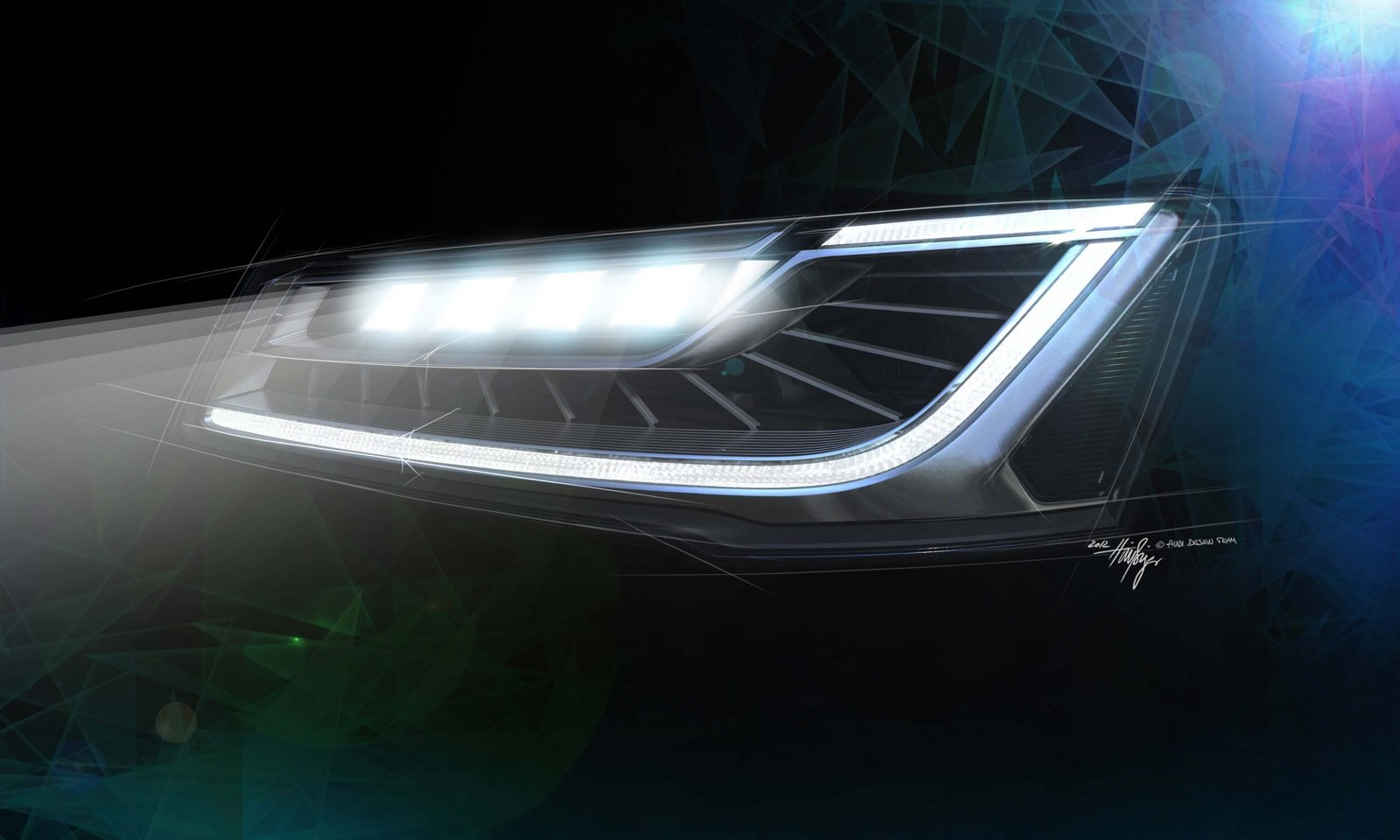Audi Matrix LED headlights technology explained - photos ...