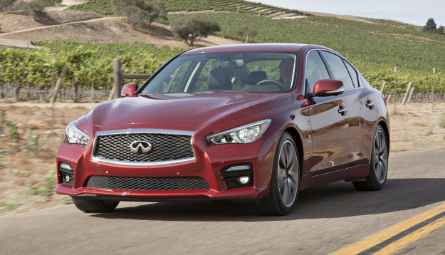 Infiniti Q50: Mercedes-Benz 2.0-litre turbo petrol for mid ...