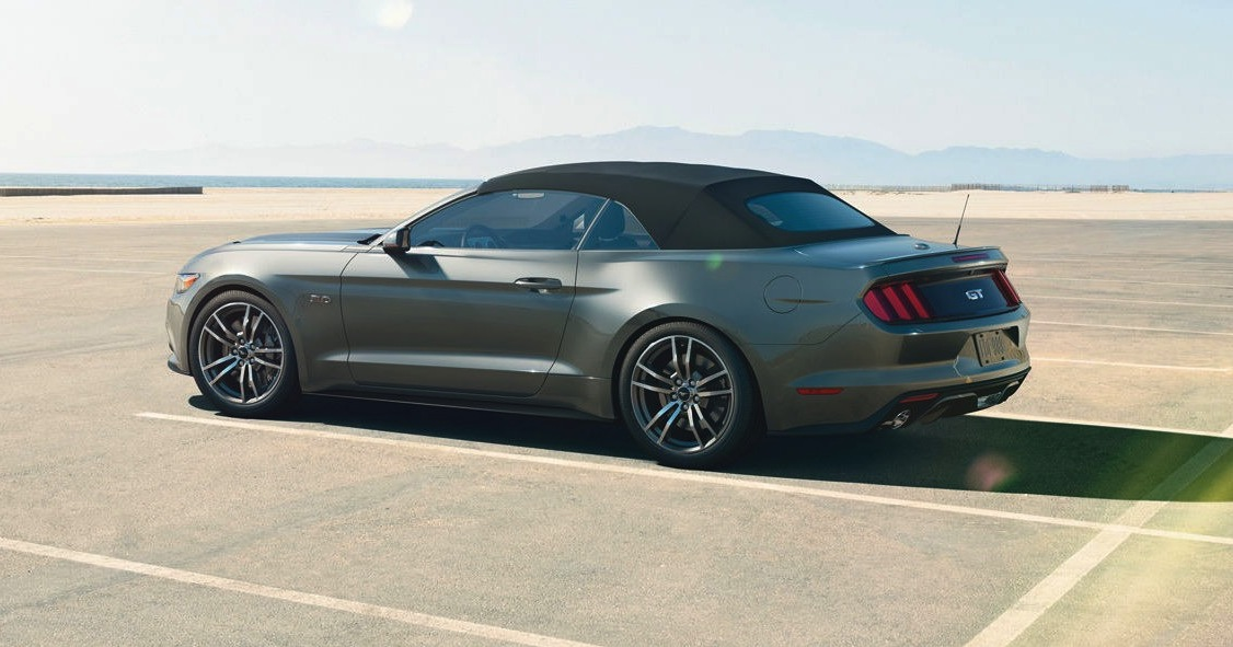 Ford Mustang Convertible Unveiled In Australia Photos