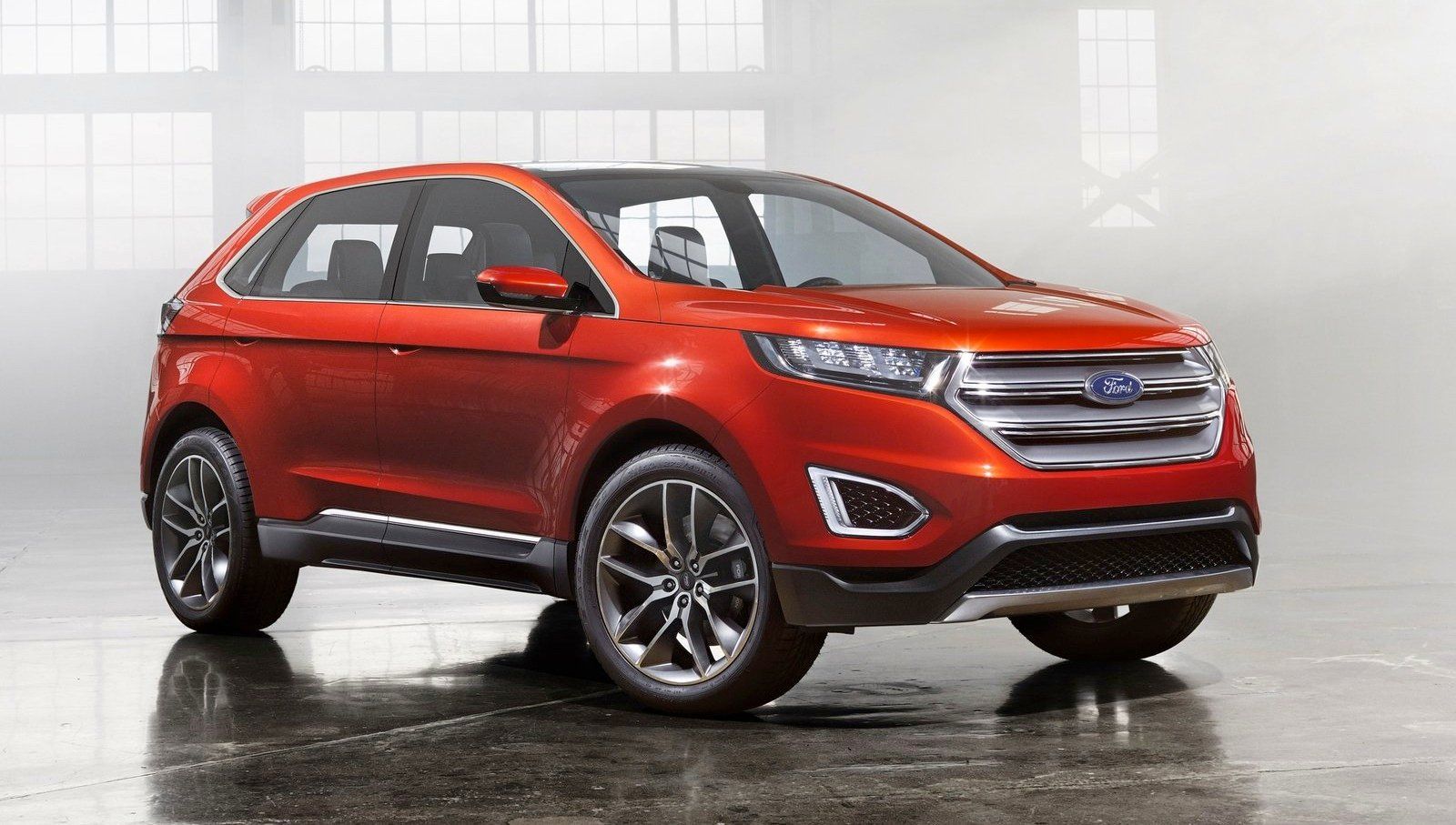 New Ford Edge >> Ford Australia 2017 : the post-Falcon and Territory showroom - photos | CarAdvice