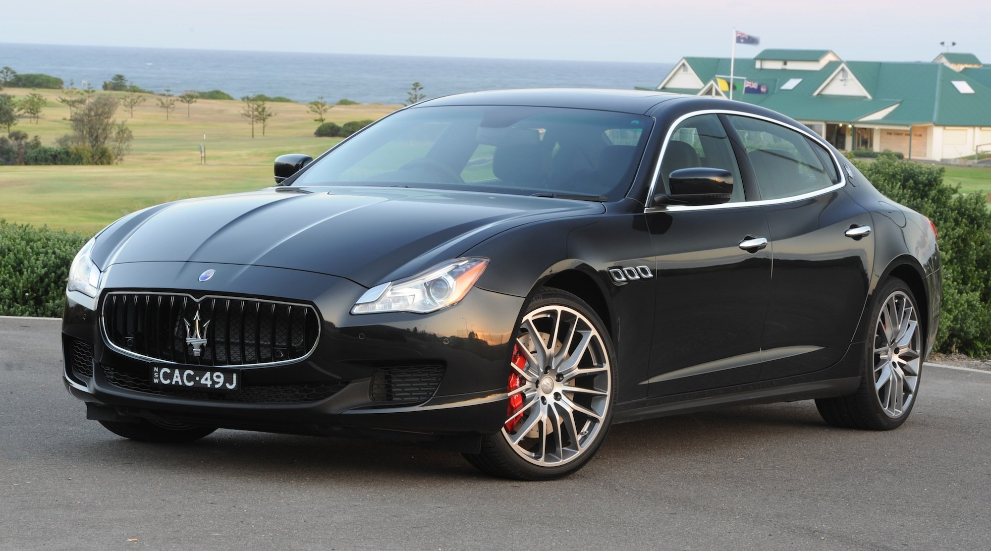 2014 maserati quattroporte review caradvice. Black Bedroom Furniture Sets. Home Design Ideas