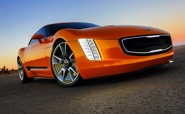 Kia Gt4 Stinger Quot Aggressive Quot Sports Car Concept Unveiled