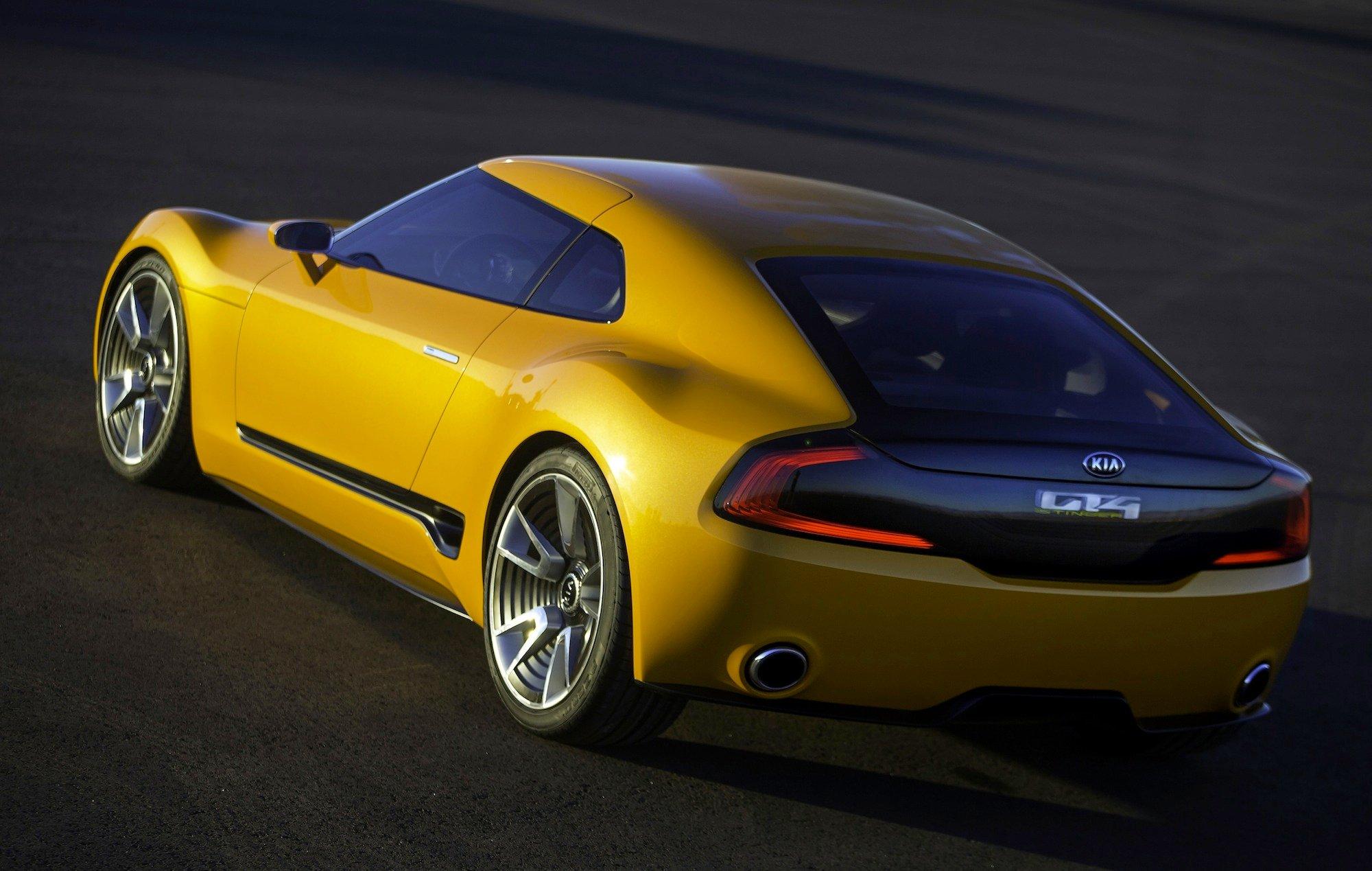 "Kia GT4 Stinger : ""aggressive"" sports car concept unveiled - photos | CarAdvice"