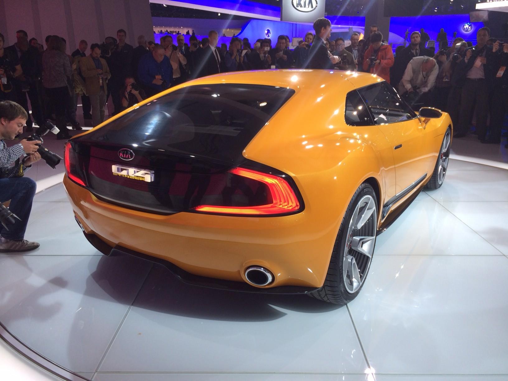 "Kia GT4 Stinger : ""aggressive"" sports car concept unveiled ..."