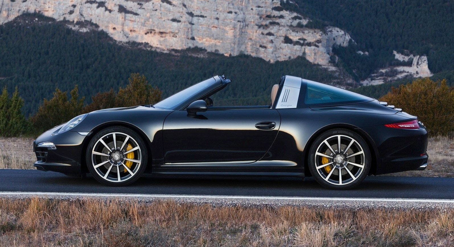 Porsche 911 Targa 1965 Style Roof Returns Photos
