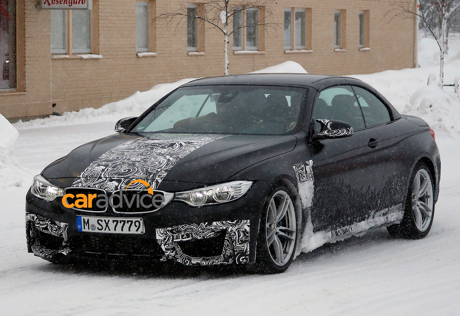 BMW M4 Convertible : drop-top sports car spied - photos ...