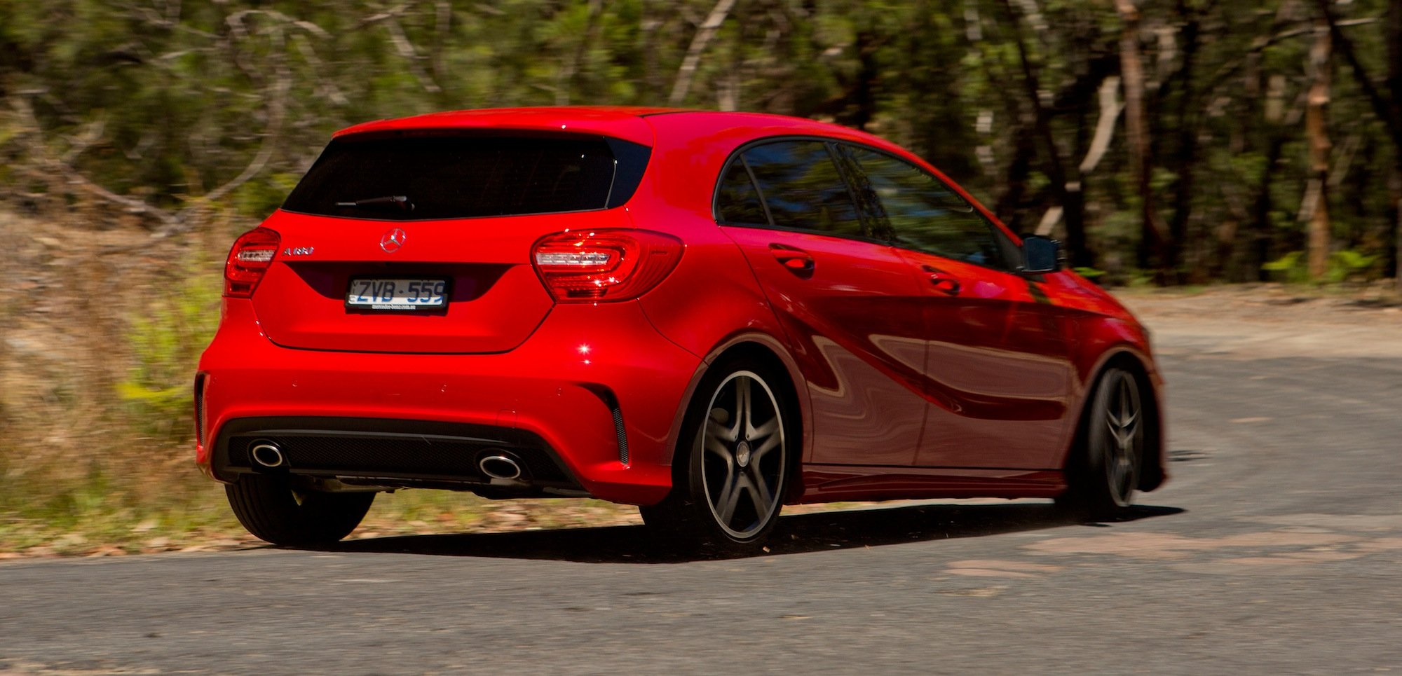 Mercedes benz a class review a180 photos caradvice for Mercedes benz mercedes benz mercedes benz