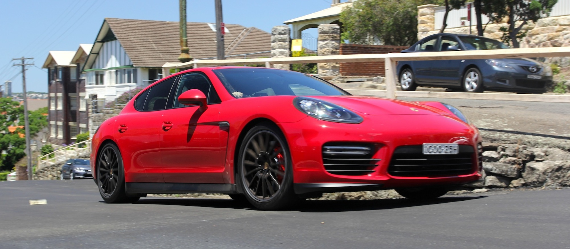 Porsche Panamera Review Gts Photos Caradvice