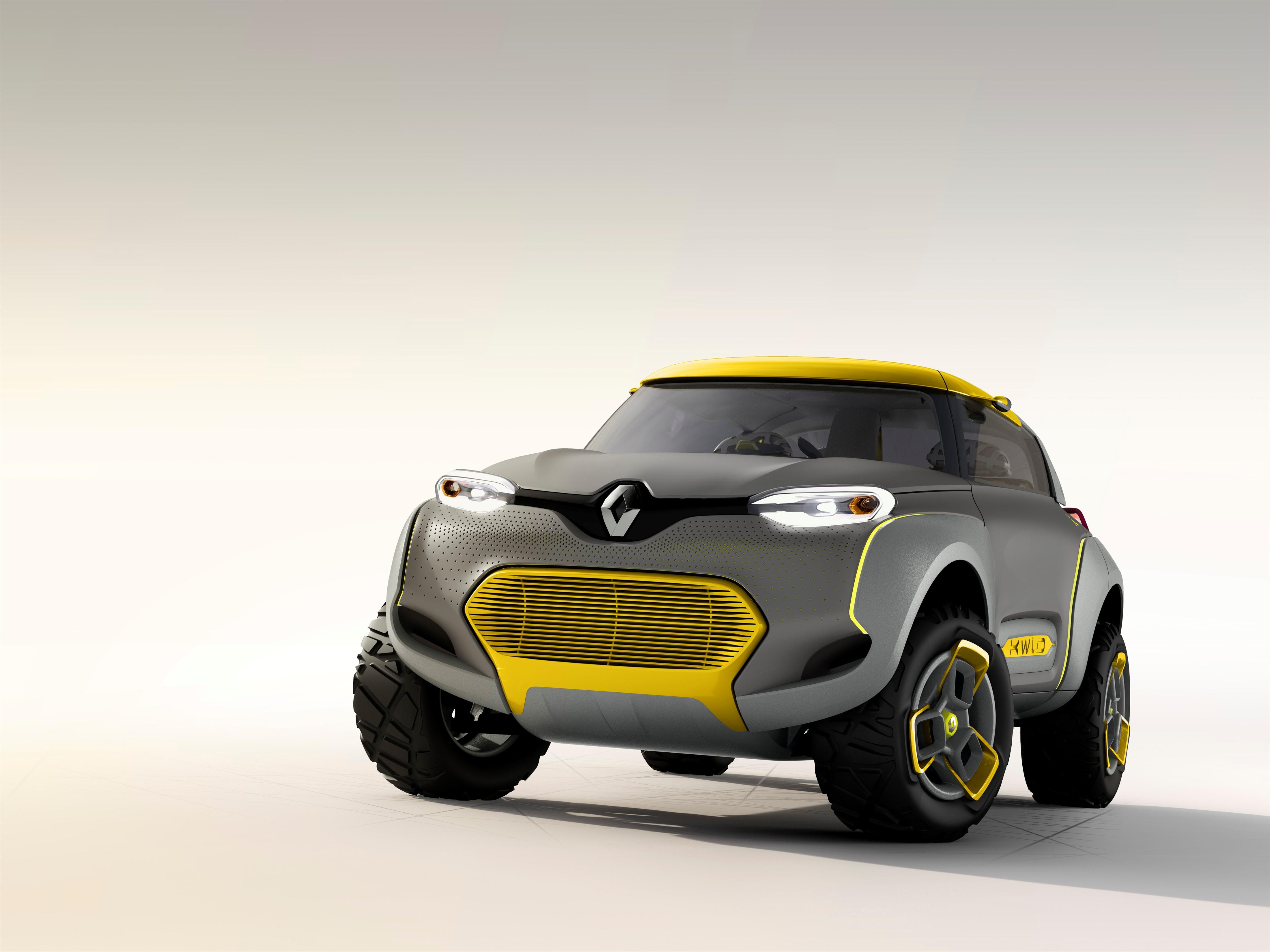 2018 Honda Civic Type R Specs >> Renault Kwid concept baby SUV revealed - photos | CarAdvice