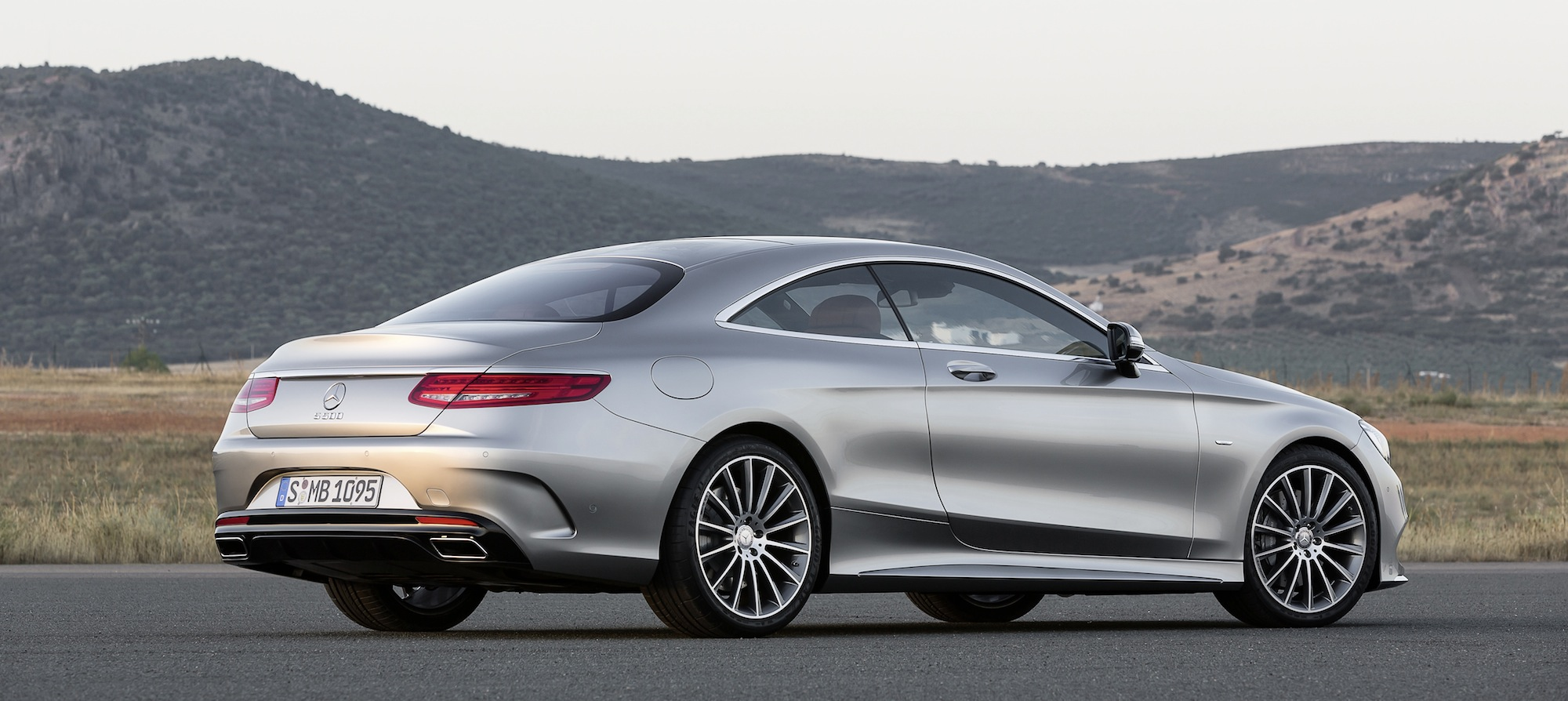 Mercedes benz s class coupe revealed photos caradvice for 2014 mercedes benz s class sedan
