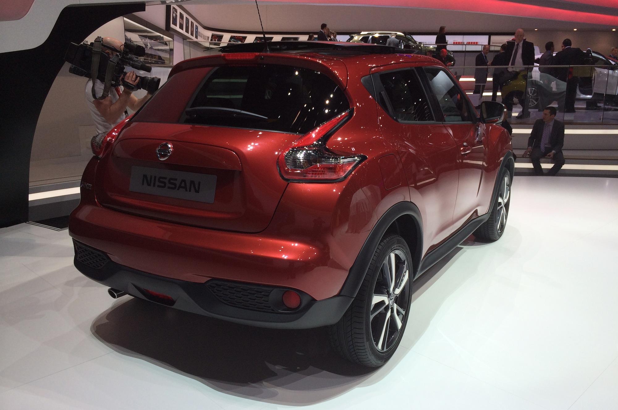 Nissan Juke Facelifted Suv Gets 1 2 Litre Turbo Bigger