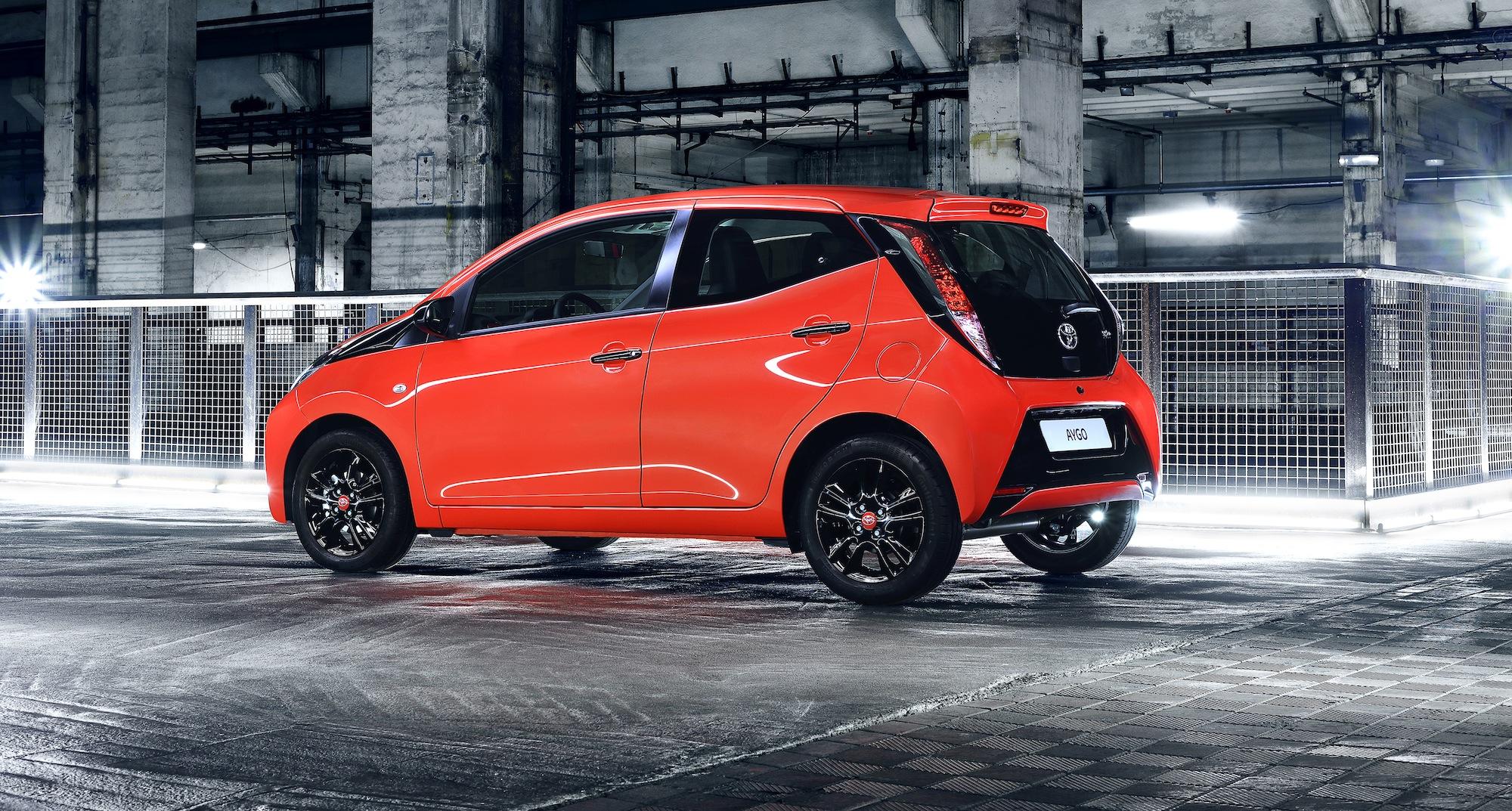2014 Toyota Aygo Euro Hip City Hatch Unveiled Photos