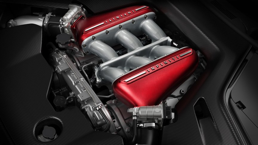 Infiniti Q50 Eau Rouge powered by Nissan GT-R engine ...
