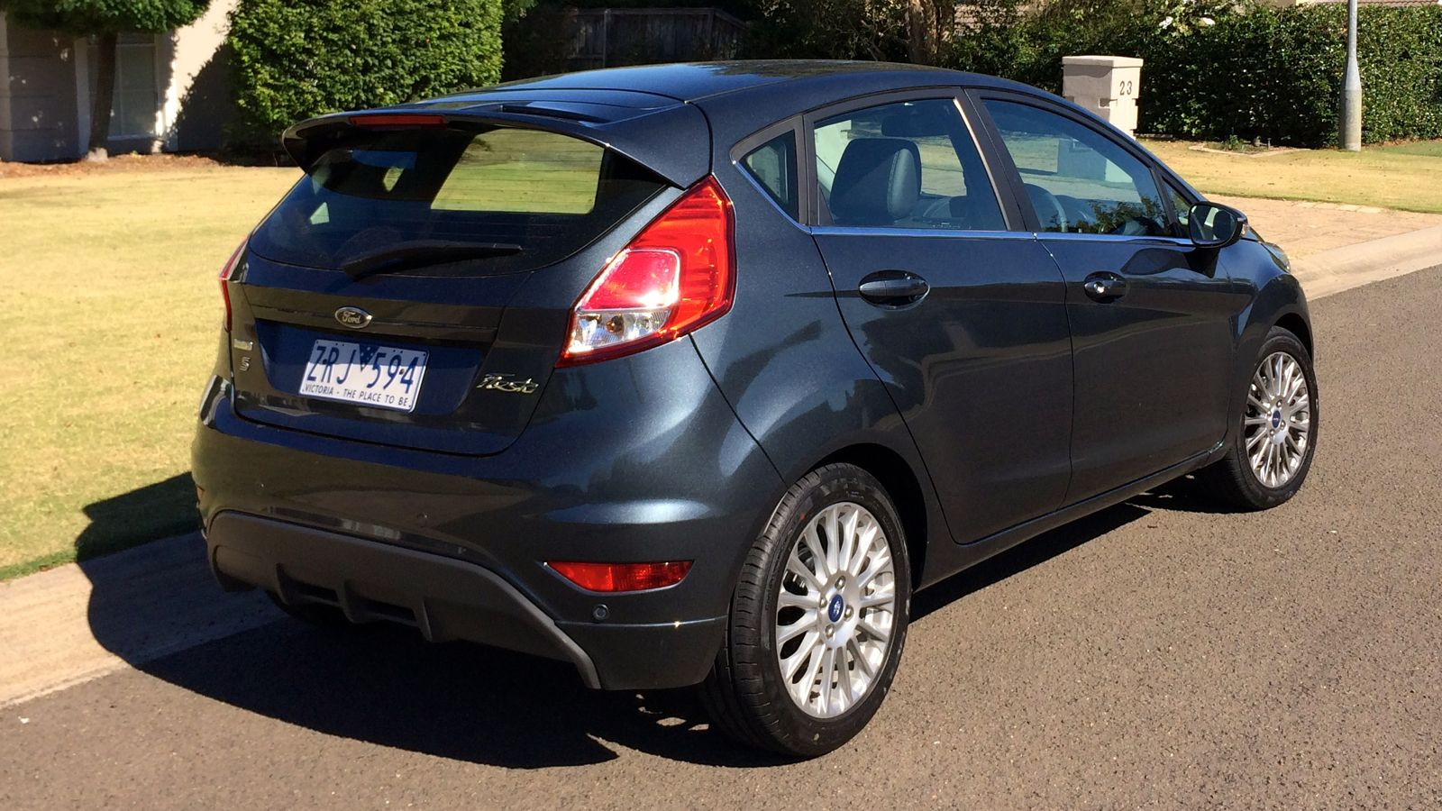 ford fiesta sport v holden barina rs comparison review photos. Black Bedroom Furniture Sets. Home Design Ideas