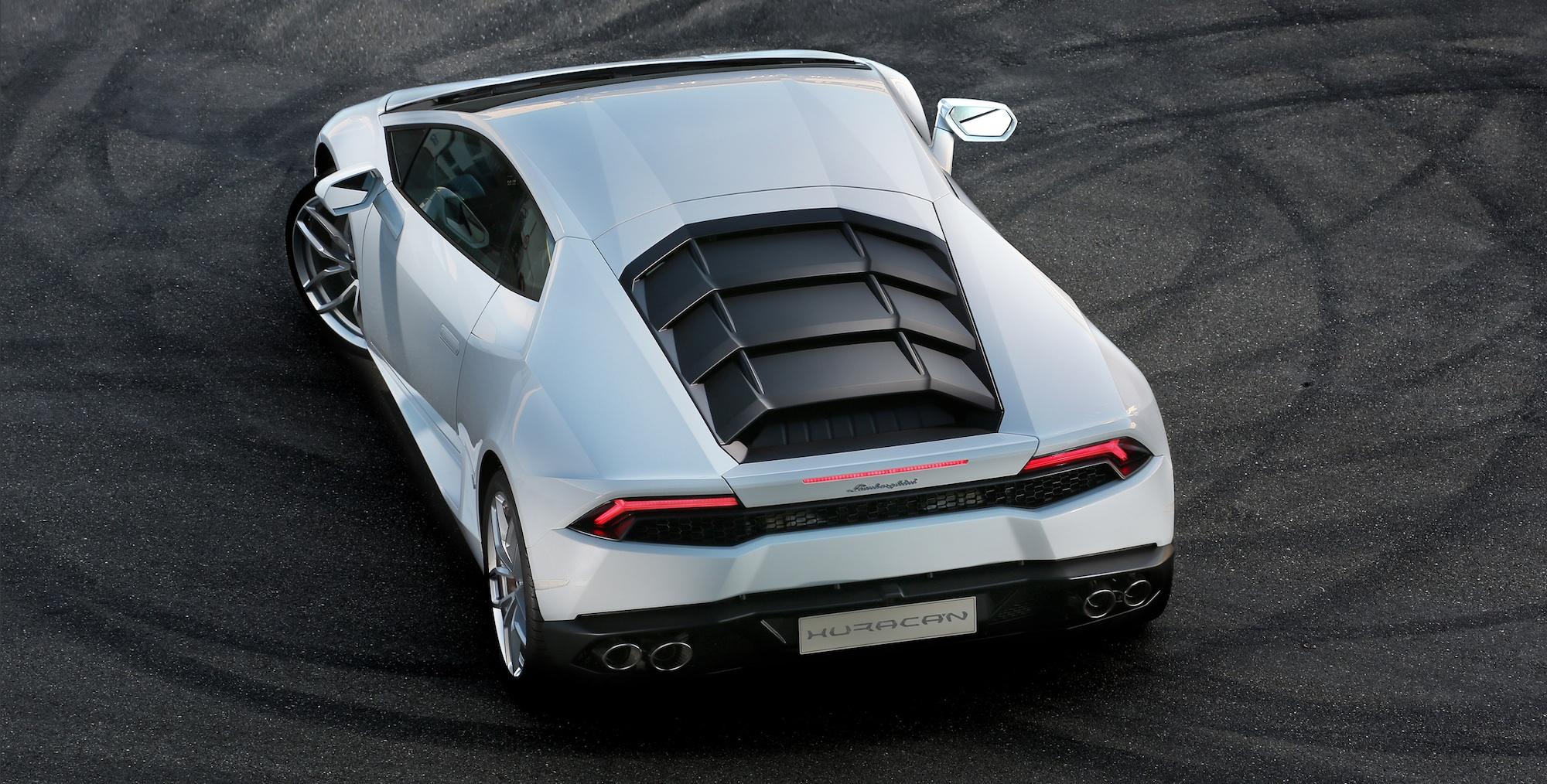 Lamborghini Huracan Rear Manual Guide