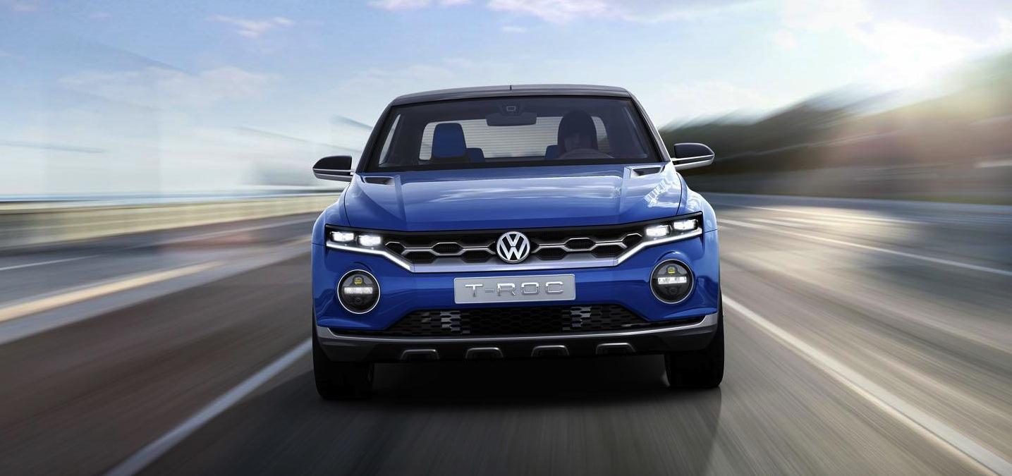 Volkswagen T Roc Baby Suv Concept Set For 2017