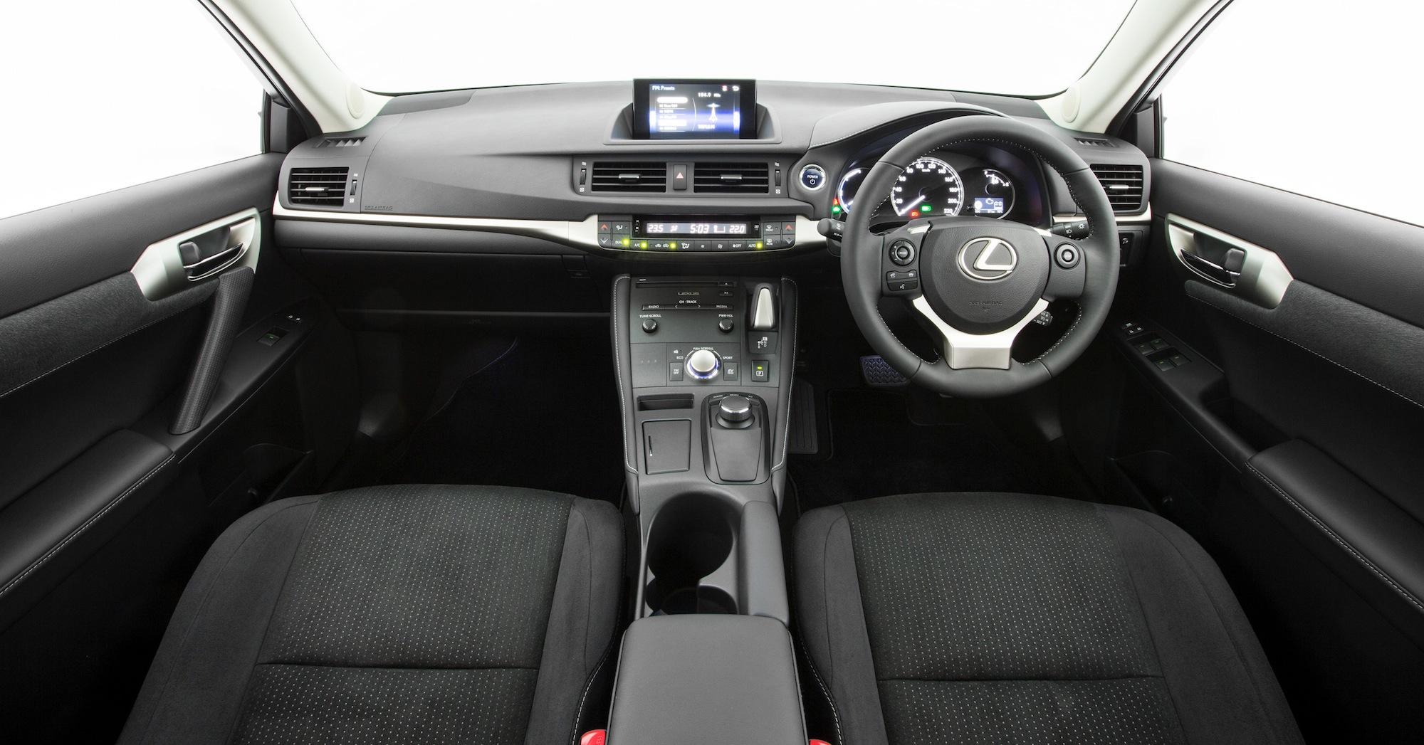 Lexus Ct H Luxury Interior