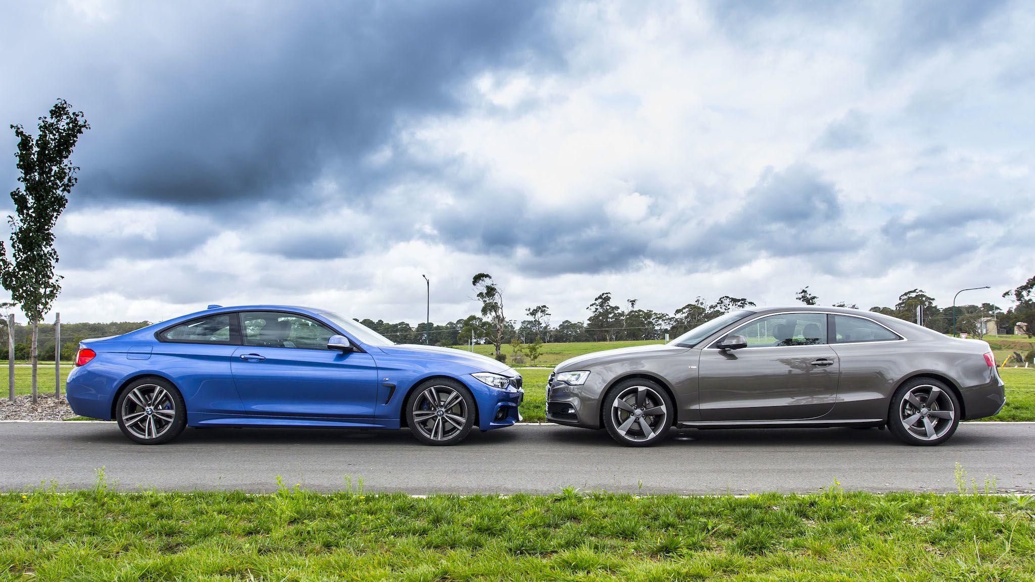 Audi A5 V Bmw 4 Series Comparison Review Photos