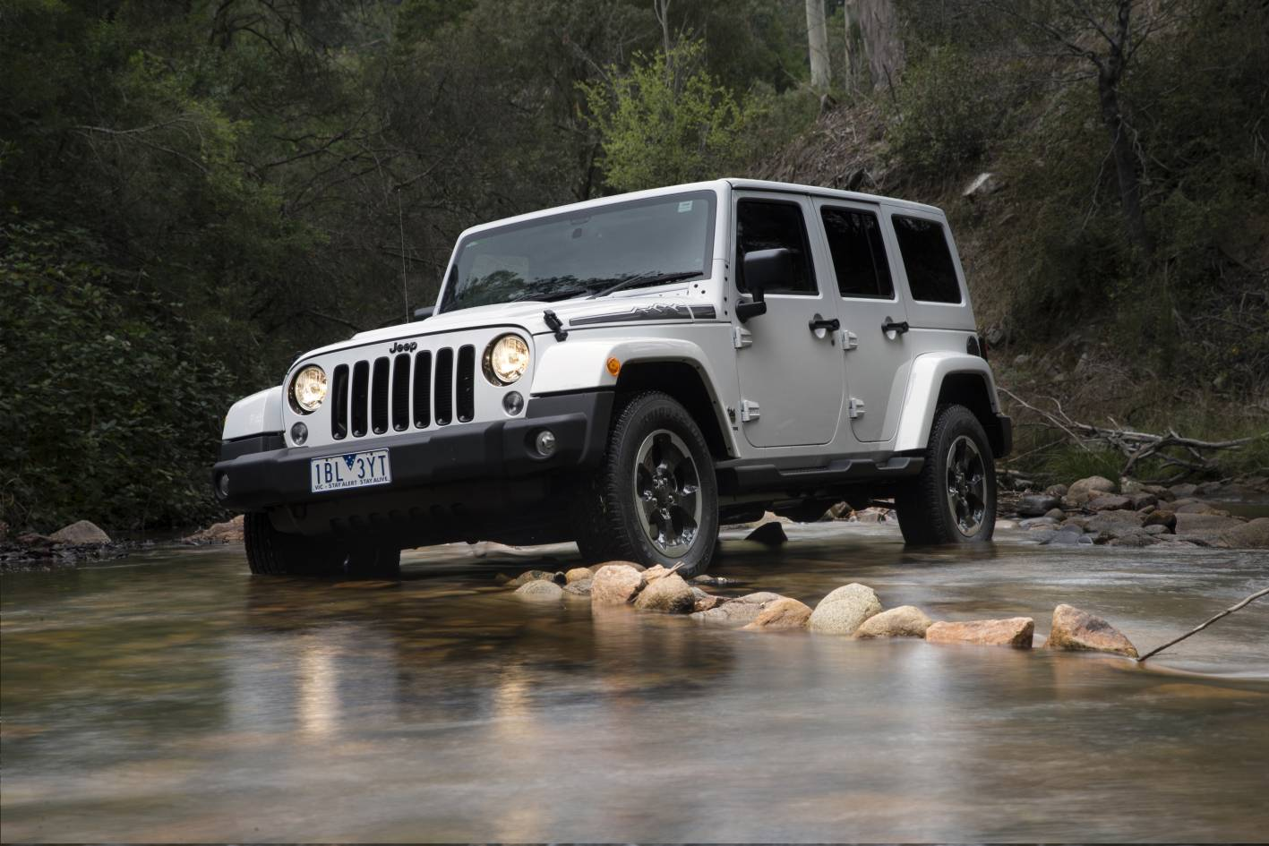 jeep wrangler polar edition arrives for winter photos caradvice. Black Bedroom Furniture Sets. Home Design Ideas
