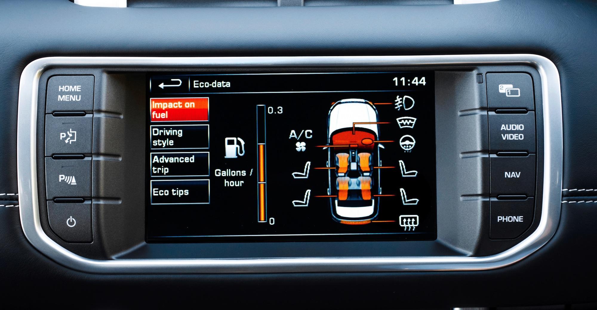 2014 Range Rover Evoque Review - photos | CarAdvice