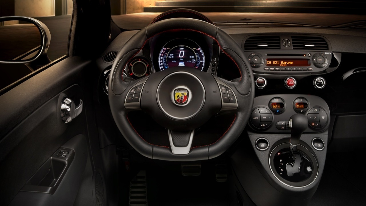 fiat 500 abarth : new automatic gearbox improves torque, still no
