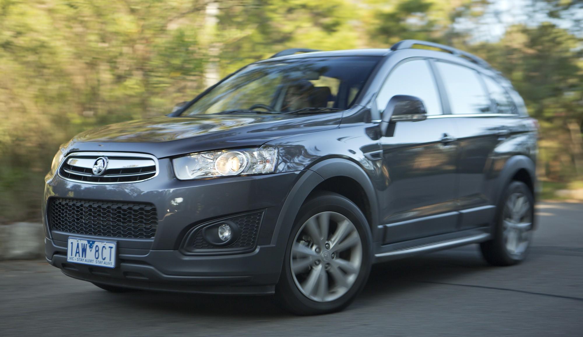 2014 Holden Captiva 7 Review: LT 3.0-litre V6 petrol ...