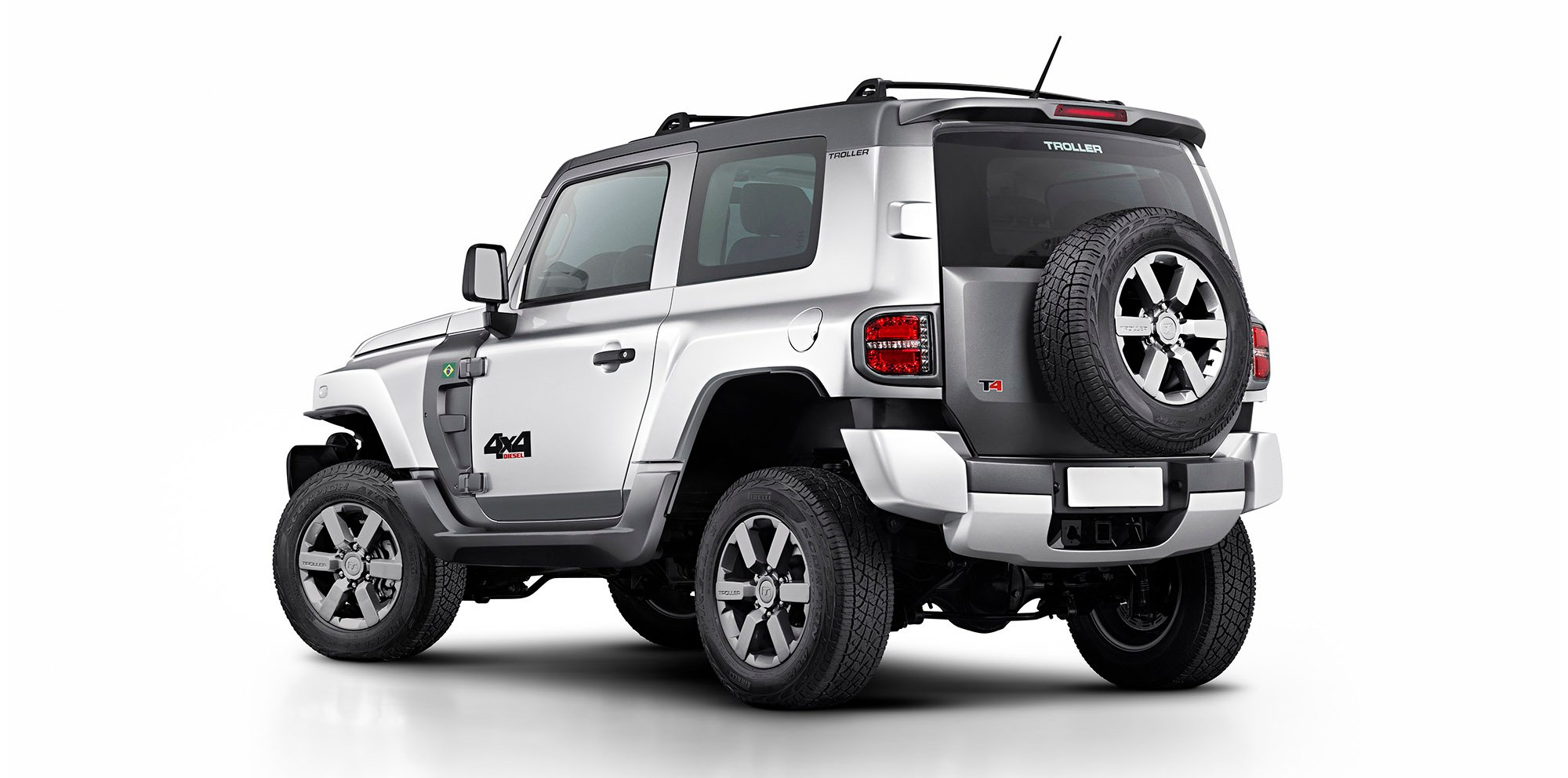 Ford T4 Troller >> New Ford Troller T4 is a Brazilian-born Jeep Wrangler-style SUV - photos | CarAdvice