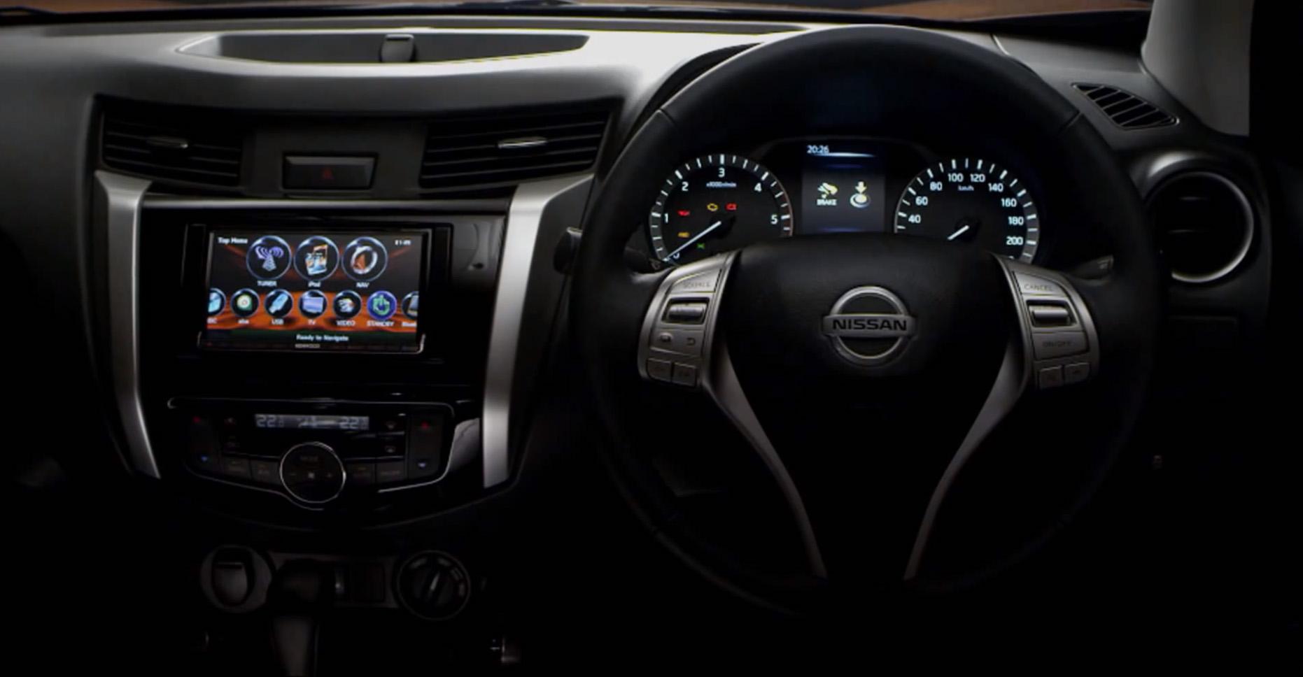 New Nissan Navara interior revealed - photos | CarAdvice