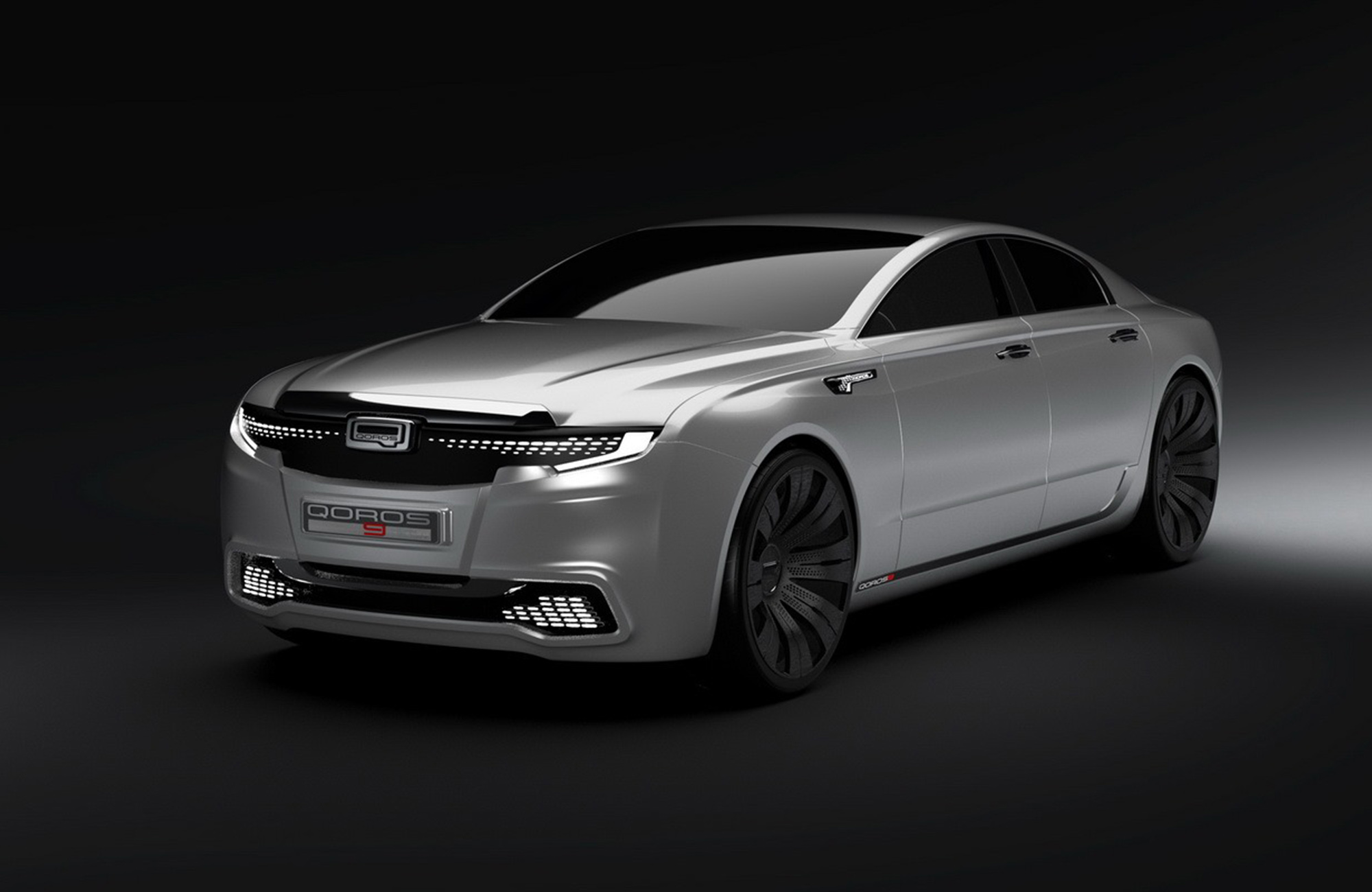 Qoros 9 Sedan Concept presents a flagship vision for 2020 ...