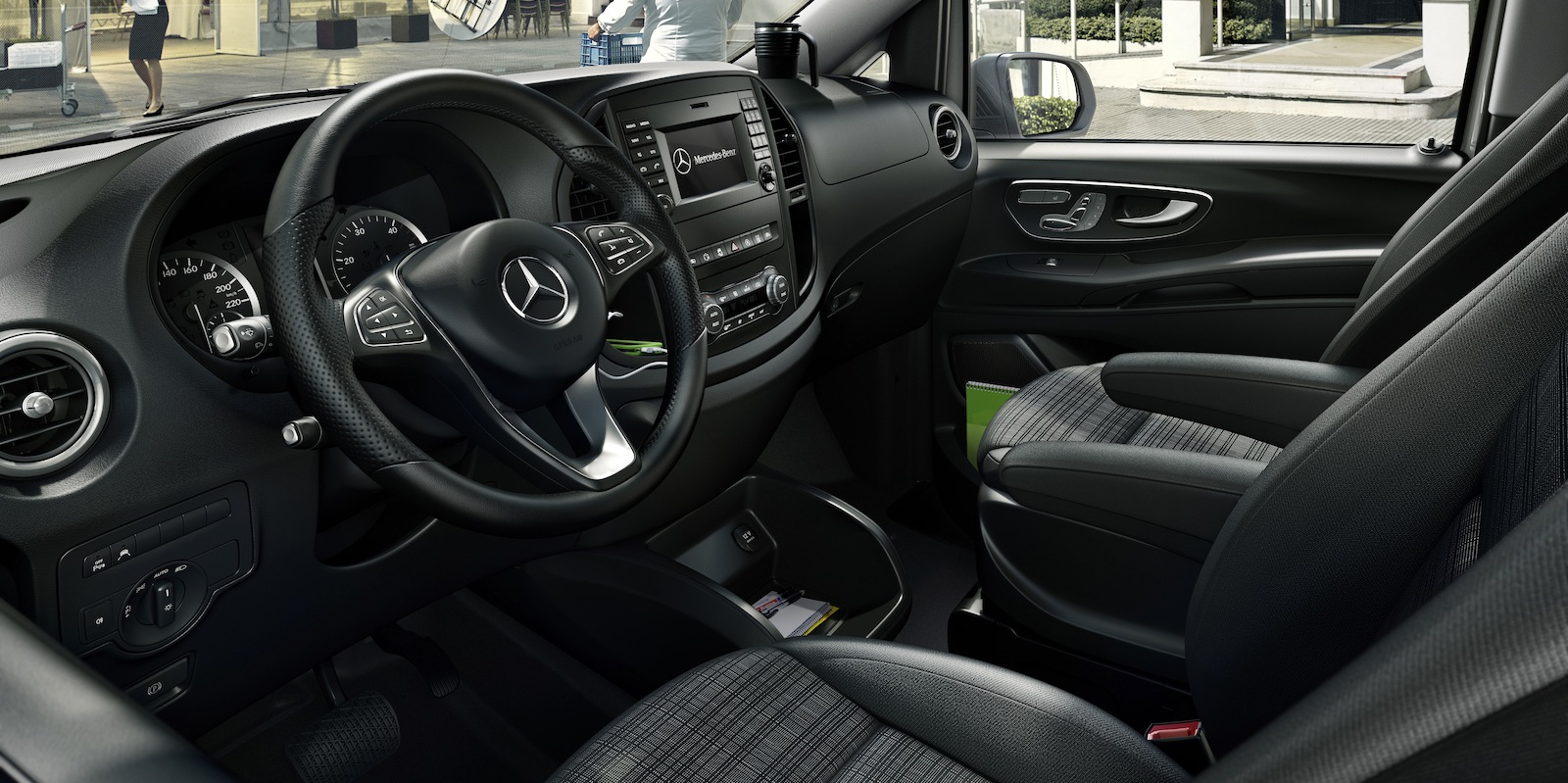 2015 mercedes benz vito revealed photos caradvice for Mercedes benz van 2015
