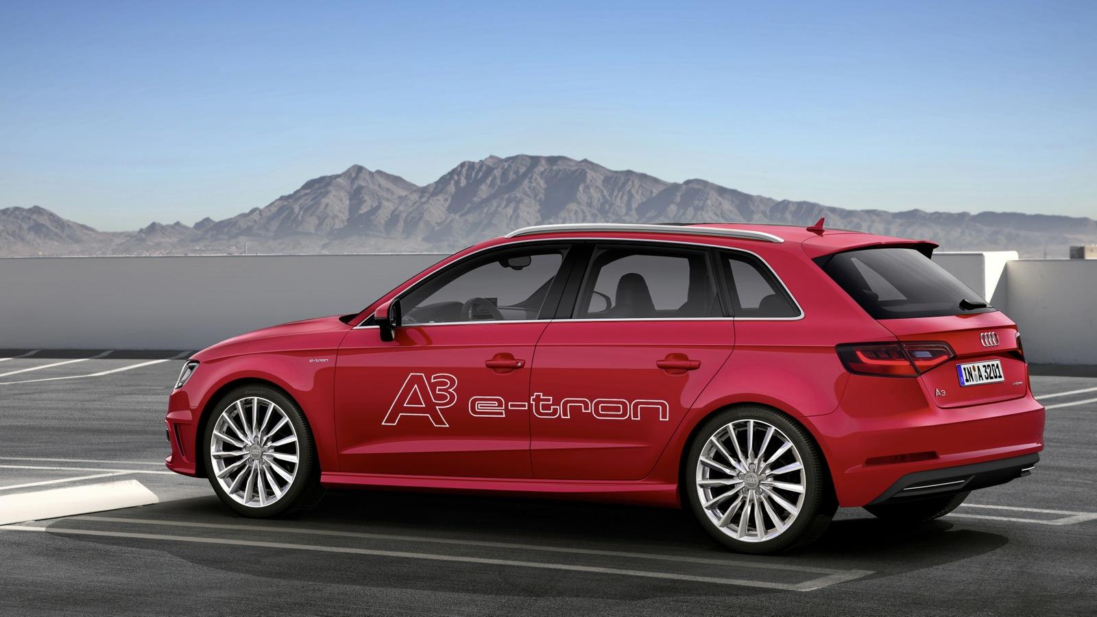Audi A Sportback Etron To Establish The Plugin Hybrid Pillar For - Audi a3 hybrid