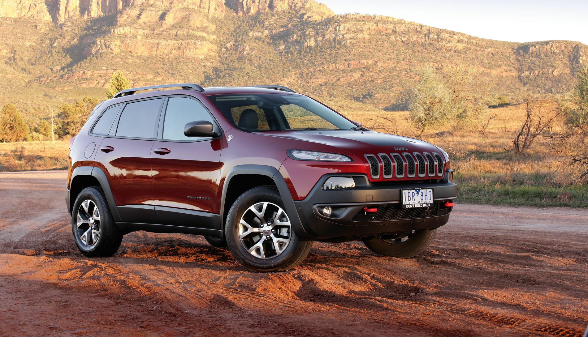 2014 Jeep Cherokee Trailhawk Review: Off-road