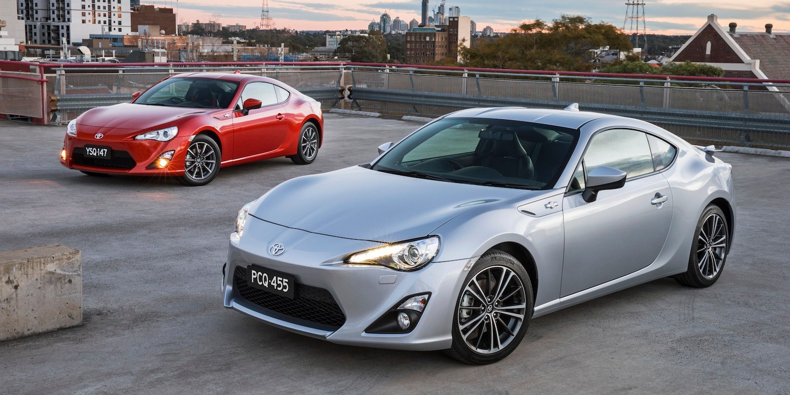 Toyota 86 Revised Suspension Enhanced Interior For