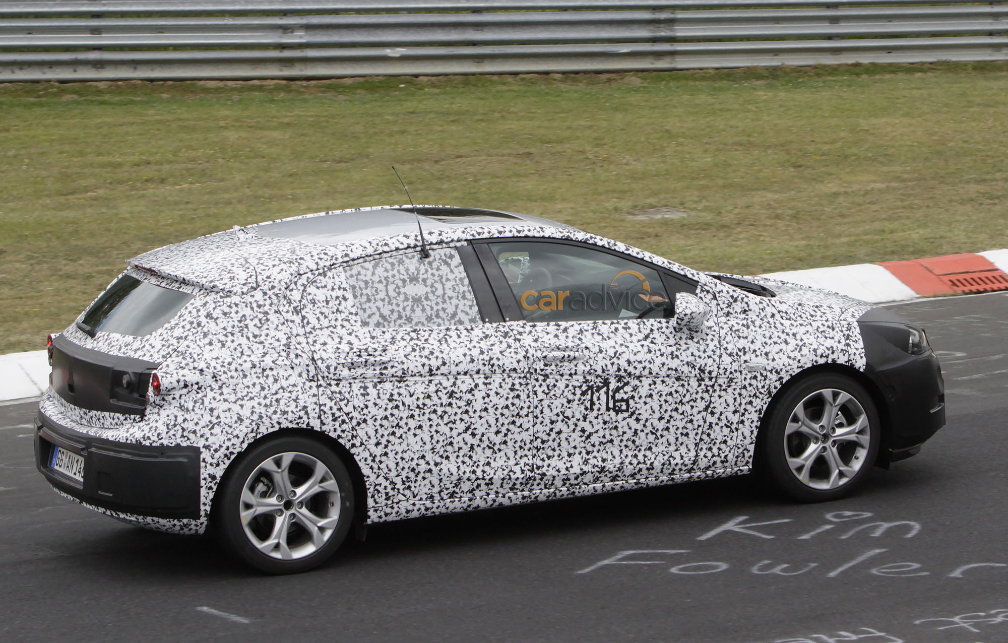 2015 Opel Astra interior spied at Nurburgring - photos | CarAdvice